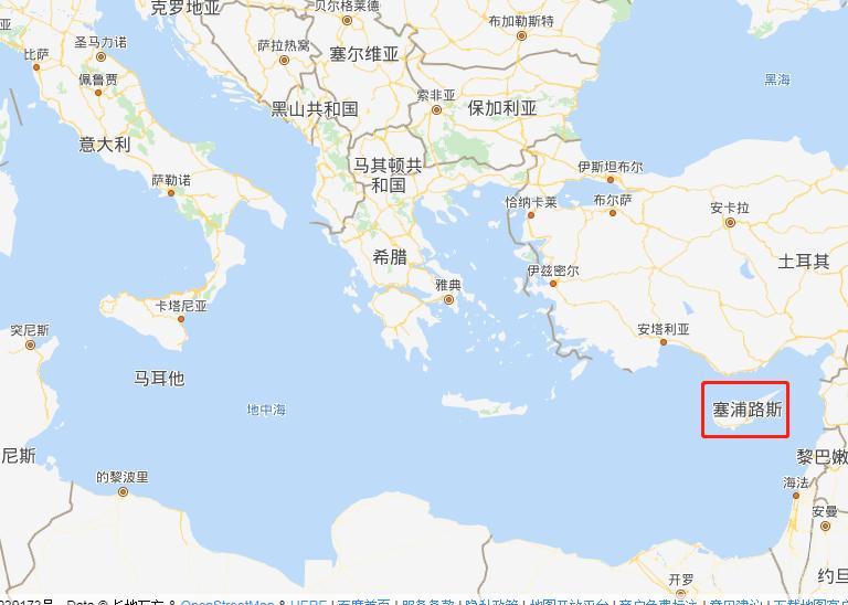 塞浦路斯在哪儿,属于哪个洲?