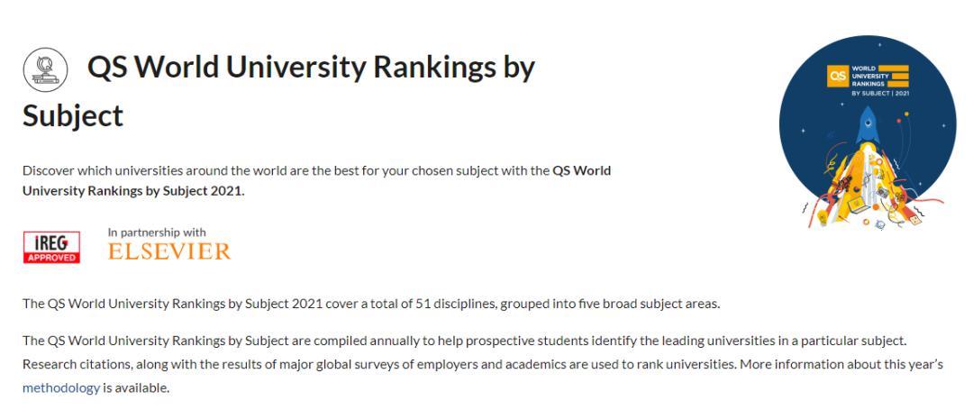 2021世界大学学科排名出炉,加拿大大学表现亮眼